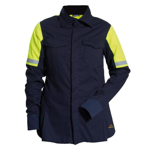 Tranemo Cantex Pro FR Ladies Blouse-RBM Offshore Safety Supplies