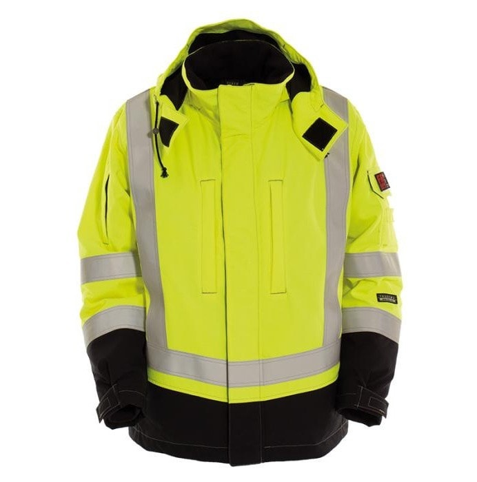 Tranemo Tera TX FR Hi-Vis Winter Jacket-RBM Offshore Safety Supplies