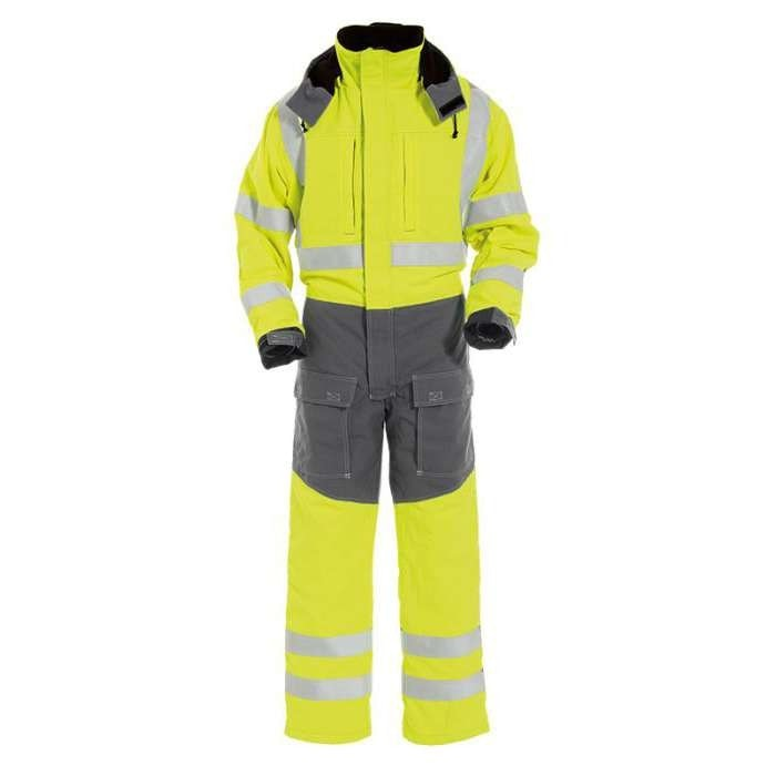 Tranemo Tera-TX Hi-Vis FR Winter Overalls-RBM Offshore Safety Supplies
