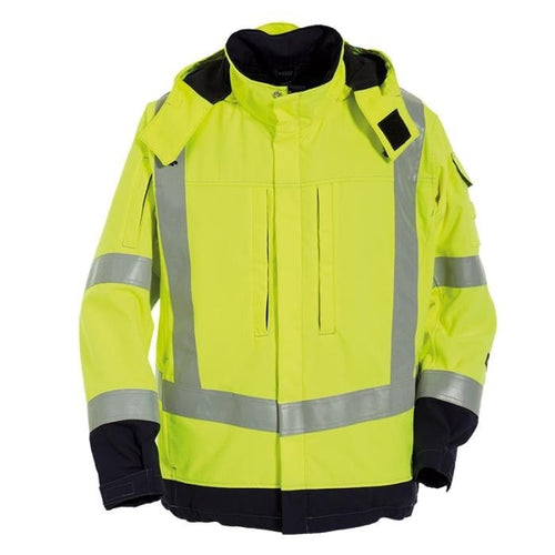Tranemo Tera TX FR Hi-Vis Storm Jacket-RBM Offshore Safety Supplies