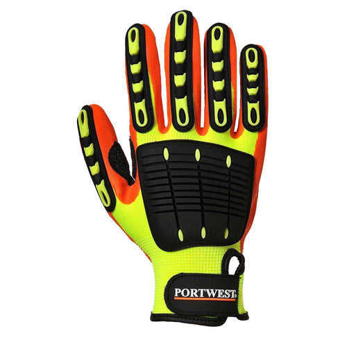 Portwest Anti-Impact Grip Gloves-RBM Offshore Safety Supplies
