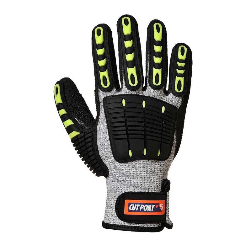 Portwest Anti-Impact Cut 5 Grip Gloves-RBM Offshore Safety Supplies