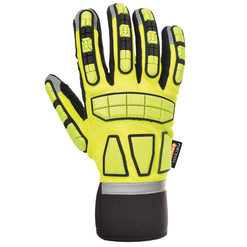 Portwest Thermal Lined Safety Impact Gloves-RBM Offshore Safety Supplies