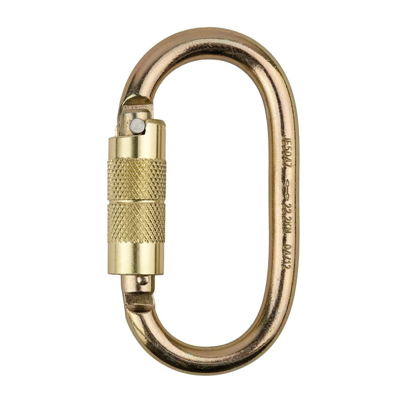 Portwest Self Lock Carabiner-RBM Offshore Safety Supplies