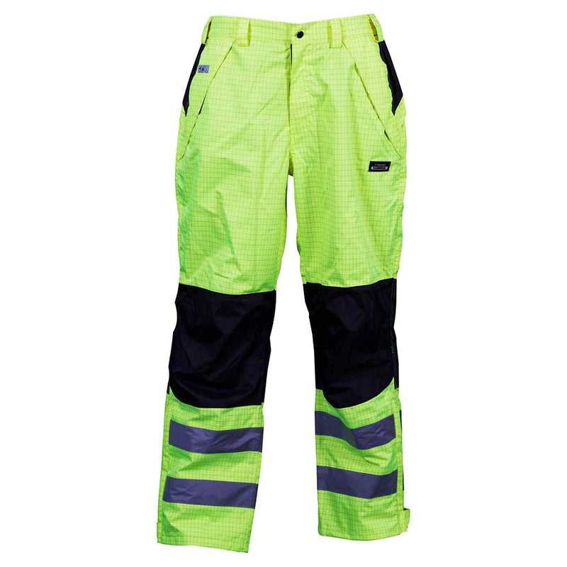 Lyngsoe FR Hi-Vis Waterproof Winter Trousers-RBM Offshore Safety Supplies