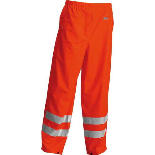 Lyngsoe Microflex FR Hi-Vis Waterproof Trousers-RBM Offshore Safety Supplies