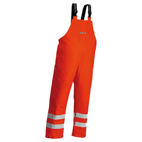 Lyngsoe Microflex FR Hi-Vis Waterproof Winter Bib Trousers-RBM Offshore Safety Supplies