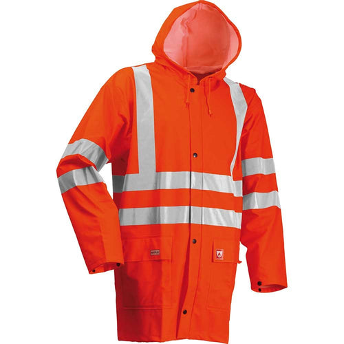 Lyngsoe Microflex FR Waterproof Hi-Vis Jacket-RBM Offshore Safety Supplies