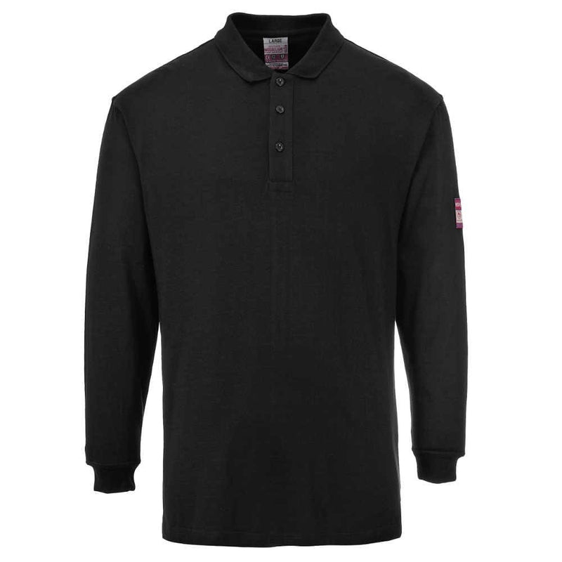 Portwest Modaflame FR Antistatic Polo Shirt-RBM Offshore Safety Supplies