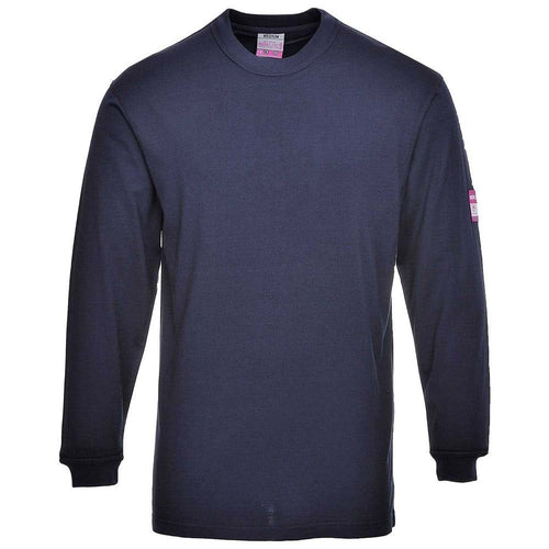 Portwest Modaflame FR Antistatic Base Layer T-Shirt-RBM Offshore Safety Supplies