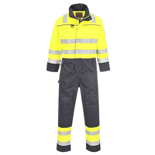 Portwest FR Multi-Norm Hi-Vis Overalls-RBM Offshore Safety Supplies