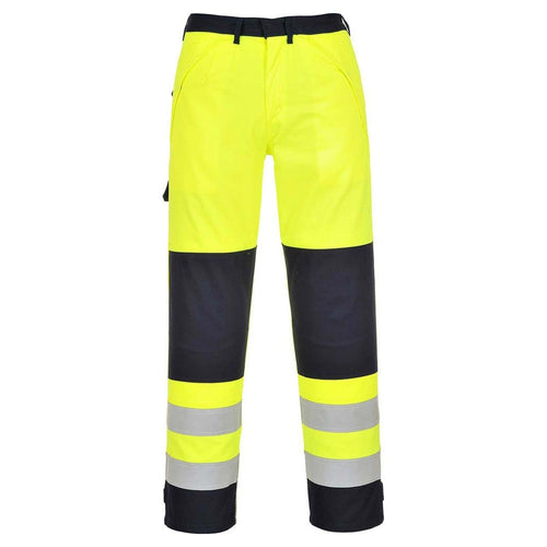 Portwest Multinorm FR Hi-Vis Tousers-RBM Offshore Safety Supplies