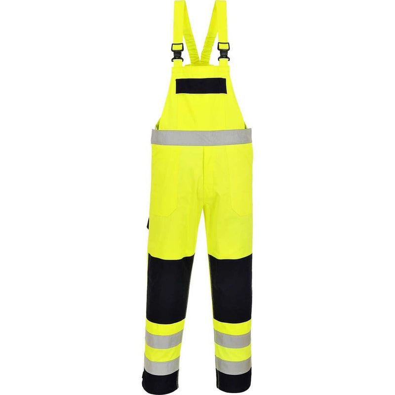 Portwest Multinorm FR Hi-Vis Bib & Brace-RBM Offshore Safety Supplies