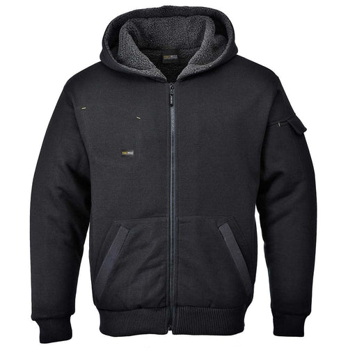 Portwest Pewter Zip-Up Hoodie Jacket-RBM Offshore Safety Supplies