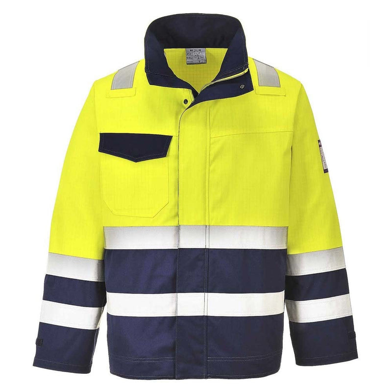 Portwest Modaflame FR Hi-Vis Jacket-RBM Offshore Safety Supplies