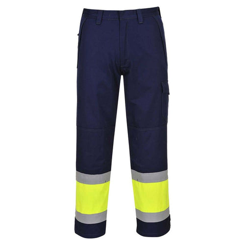 Portwest Modaflame FR Hi-Vis Trousers-RBM Offshore Safety Supplies