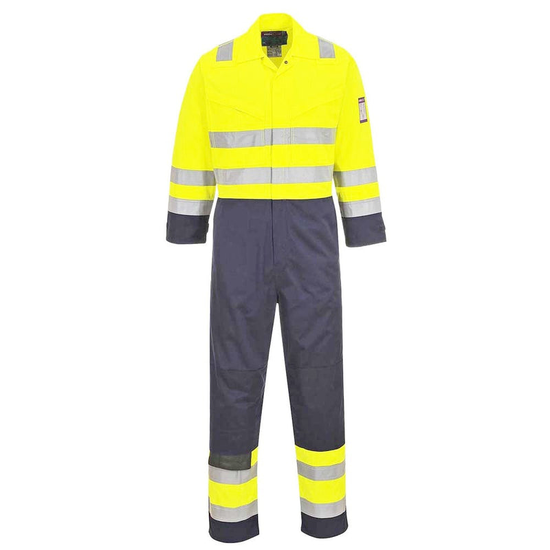 Portwest FR Modaflame Hi-Vis Overalls-RBM Offshore Safety Supplies