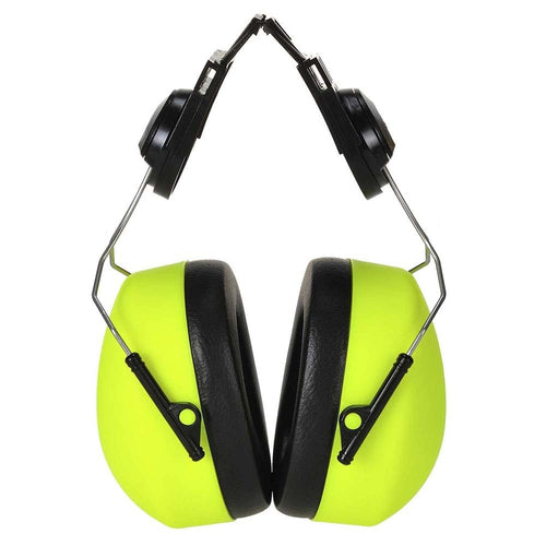 Portwest Hi-Vis Clip-On Ear Defenders - SNR 29dB-RBM Offshore Safety Supplies