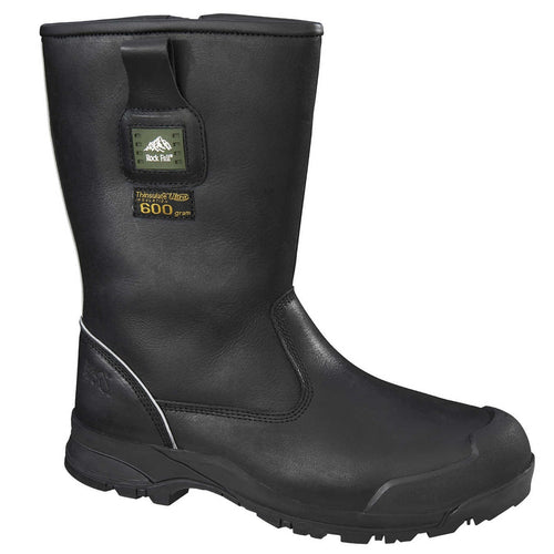 Rockfall Manitoba S3 Thermal Safety Boots-RBM Offshore Safety Supplies