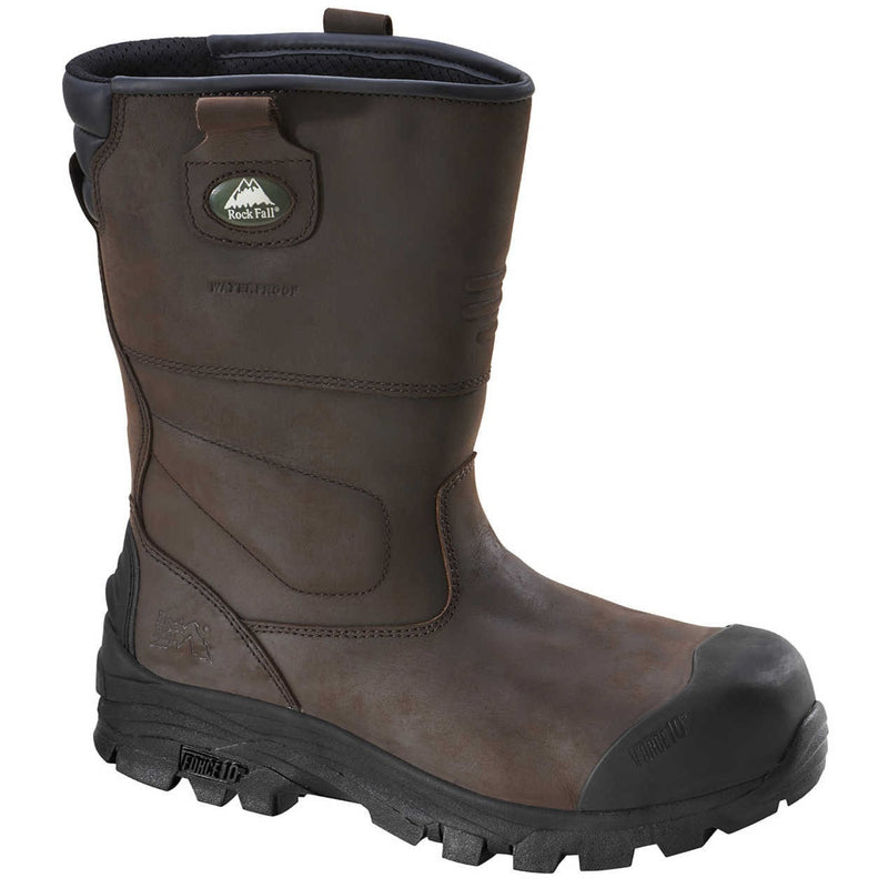 Rockfall Texas S3 Safety Rigger Boots-RBM Offshore Safety Supplies