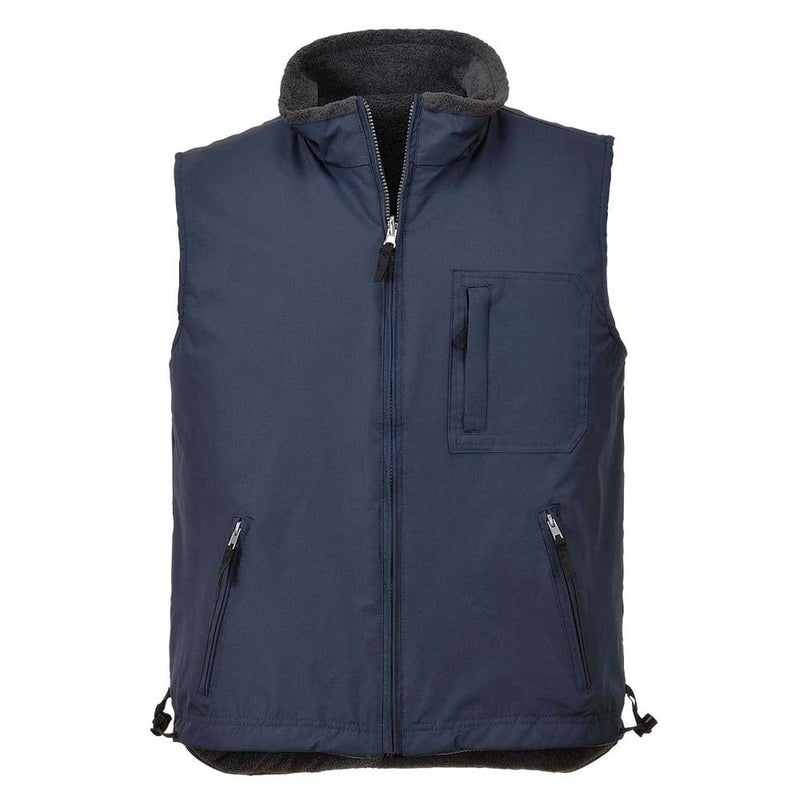 Portwest Ripstop Reversible Bodywarmer-RBM Offshore Safety Supplies