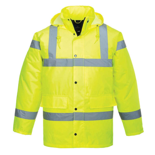 Portwest Hi-Vis Parka Jacket-RBM Offshore Safety Supplies