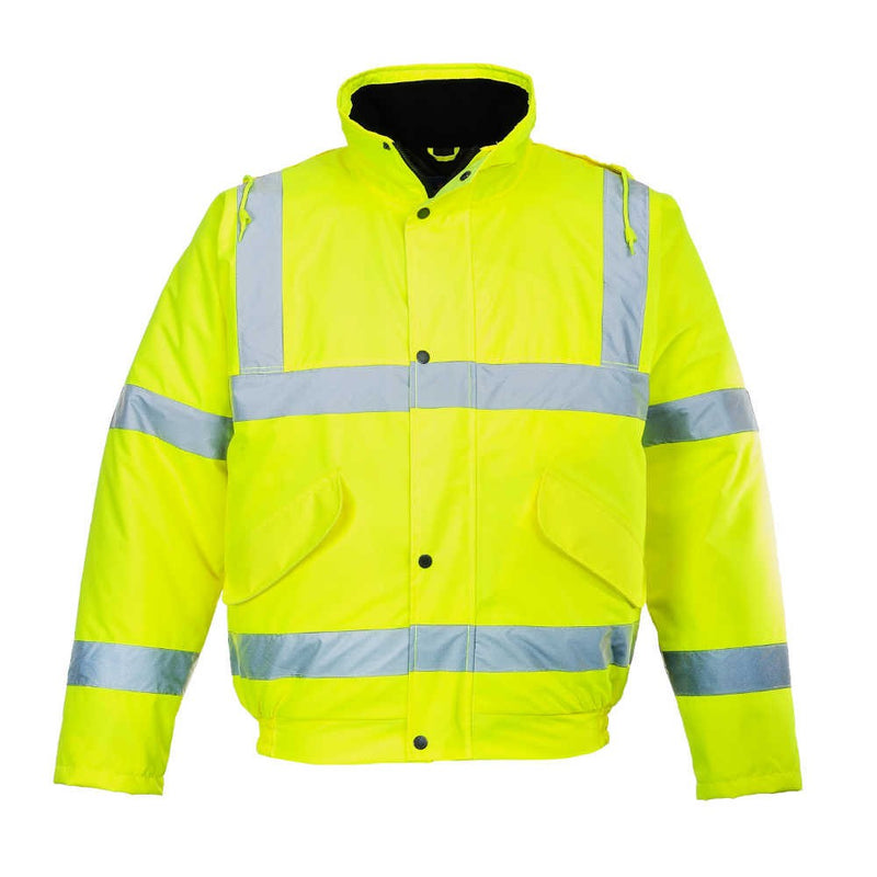 Portwest Hi-Vis Bomber Jacket-RBM Offshore Safety Supplies