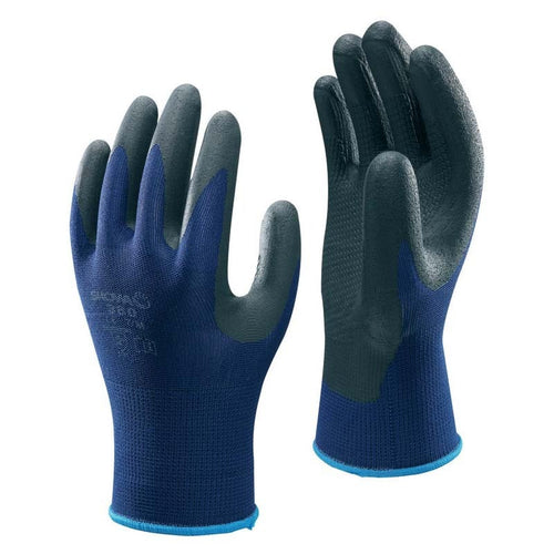 Showa 380 Nitrile Foam Grip Gloves - Pack of 10 Pairs-RBM Offshore Safety Supplies