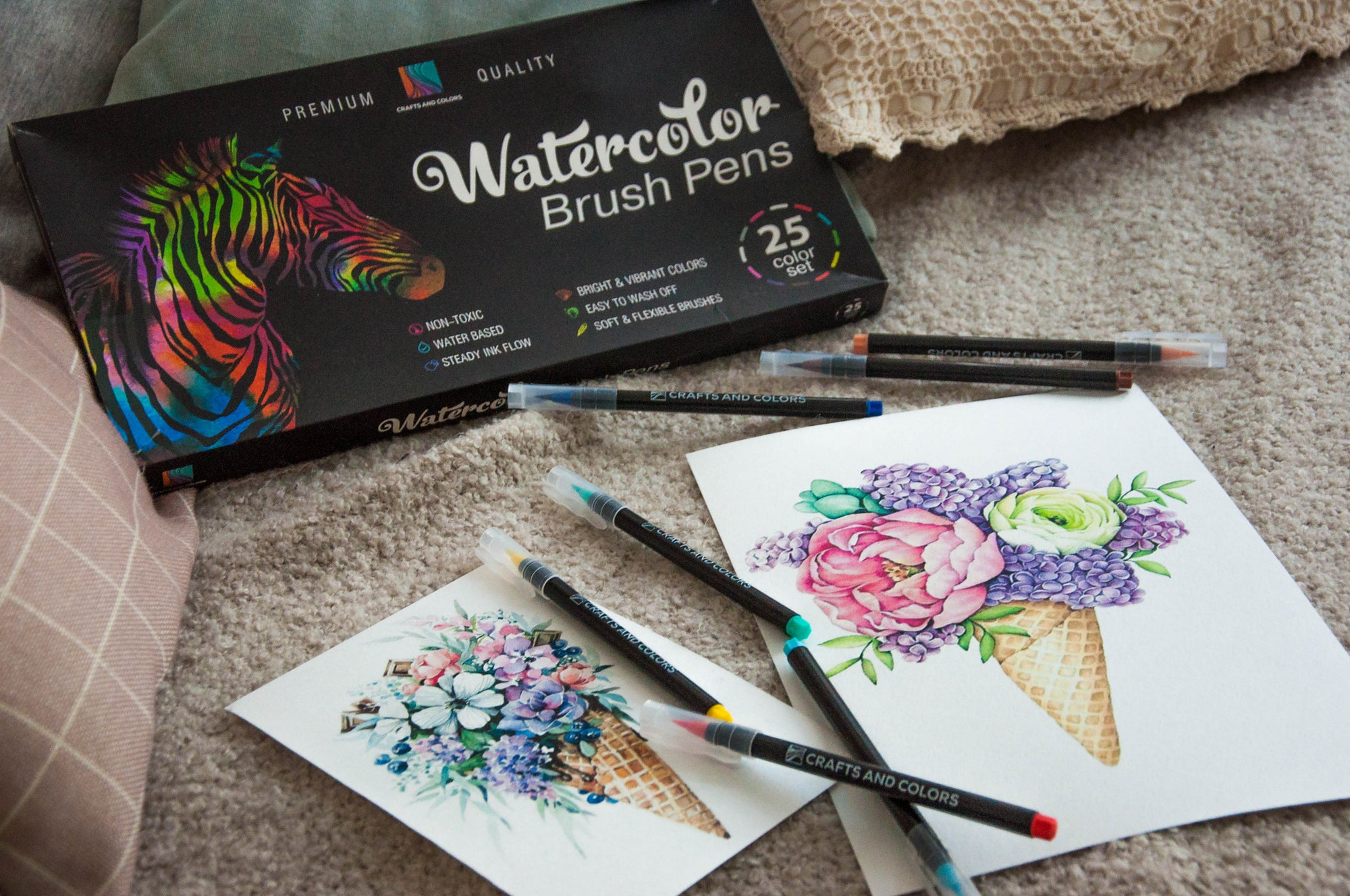 Are Your Watercolors Toxic?