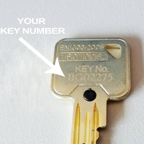 EUROSPEC MP10 KEY (BG)-Extra Keys