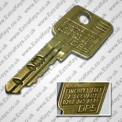 EVVA DPS KEY (FINCHLEY 300D)-Extra Keys