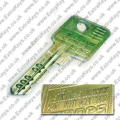 EVVA DPS KEY (KINGSGATE 135D)-Extra Keys