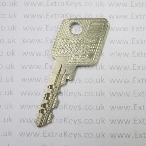 EVVA DPS KEY (RICKMANSWORTH 390D)-Extra Keys