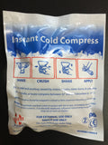 Instant Cold Compress 5 Pack - 1st Responders Tactical & Safety Training