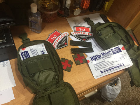 Trauma Kit (Lite) - 1st Responders Tactical & Safety Training