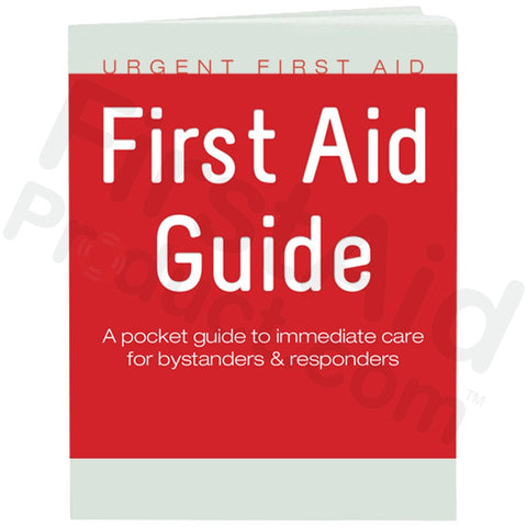 Urgent First Aid Guide with CPR & AED - 48 Pages