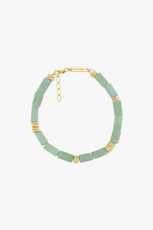 Aqua bay bracelet gold plated