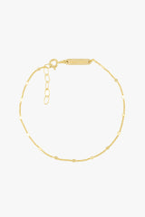 Small drops bracelet gold plated