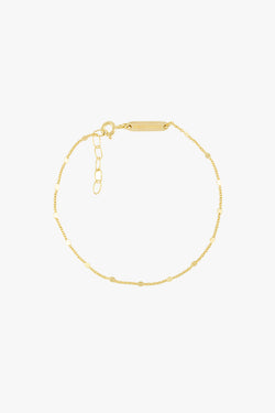 Small drops bracelet gold