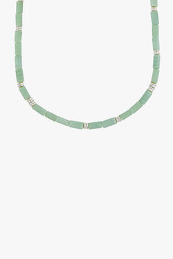 Aqua bay necklace silver