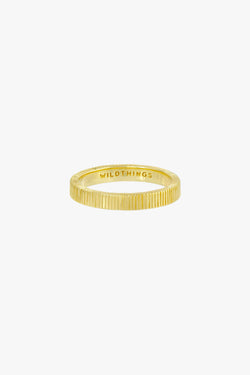 Eternity ring gold plated