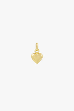 L'amour pendant gold plated