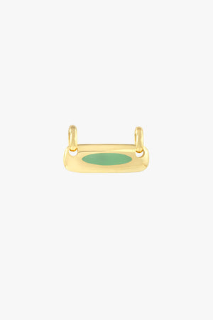 Iconic balance bar pendant gold