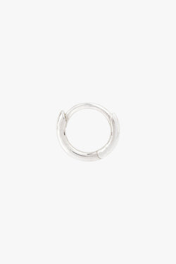Basic wild hoop silver (9mm)