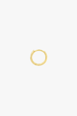 Basic wild hoop gold plated (11mm)