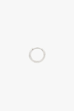 Basic wild hoop silver (11mm)