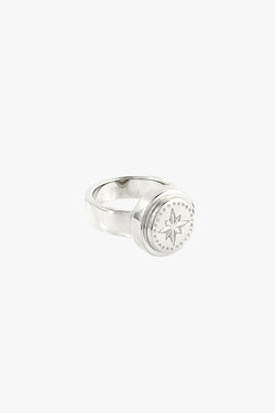 Wander pinky ring silver
