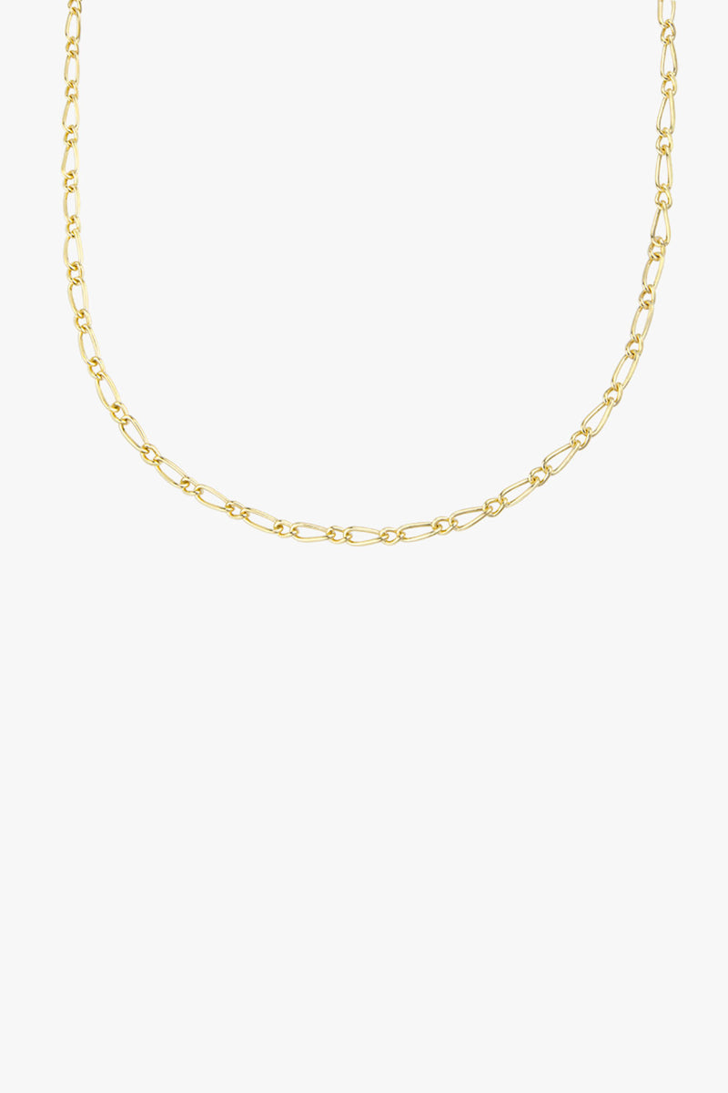 Chunky figaro necklace gold (48 cm)
