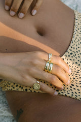 Double trouble 14k solid gold (pre-order)