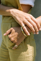 Little Bali ring 14kt solid gold